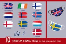 10 European Grunge Flags For F...