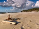 Plaża w Dziwnowie - tęcza