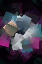 Rounding Frame Grey And Purple Block Art Texture Raster Image Digital Creation Graphic Vector Abstract.