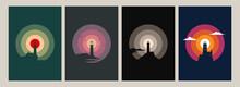 Lighthouse Silhouettes Origina...