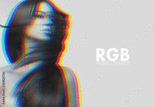 Fototapeta Rgb Vintage Photo Effect obraz
