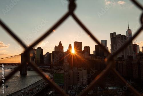 View of New York skyline - 364825381