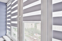Windows With Open Modern Horiz...