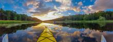 Serenity - Kayaking Sunset Pan...