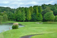 青空いっぱいのゴルフ...