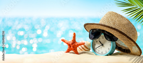Vacation time concept. Time to relax. Fotobehang