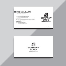 Business Card Simple And Minim...