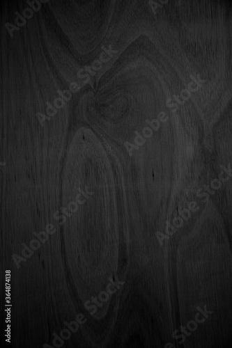 Close-up corner of wood grain Beautiful natural black abstract background Blank Fototapeta
