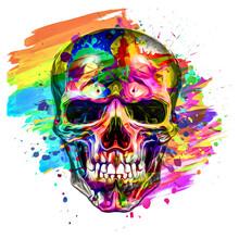 Skull In The Shape Of A Skull