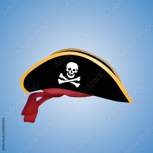 Photo pirate hat