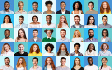 Composite Picture Of Diverse P...