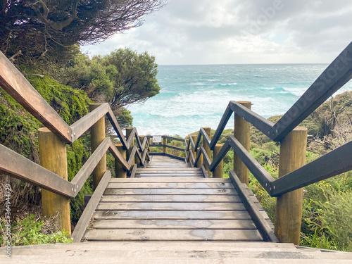 the beaches of Mandurah and Busselton in Western Australia Canvas Print