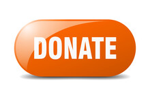 Donate Button. Donate Sign. Ke...