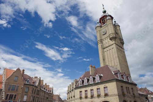 Belfry of Bergues, France Fototapete