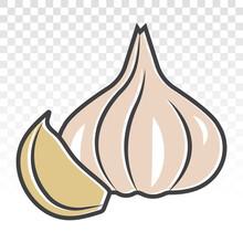 Fresh Garlic Bulbs / Allium Sa...