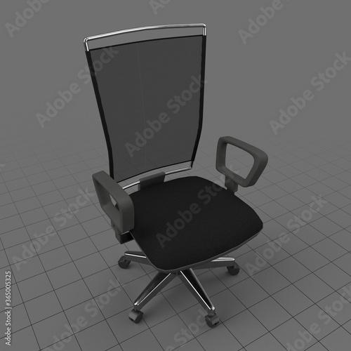 Obraz Mesh back chair - fototapety do salonu