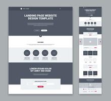 Landing Page Design Set