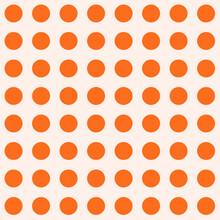 Seamless Pattern In Orange Cir...