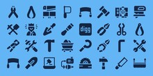 Hammer Icon Set