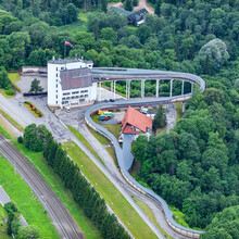 Aerial View Over The Sigulda C...