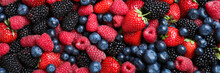 Mix Of Different Fresh Berries...