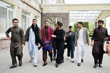 Group Of Pakistani Man Wearing...