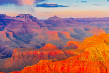 Panoramic Image Of The Colorfu...