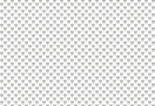 White Cylindrical Shape Pattern