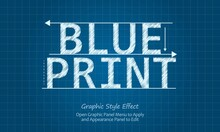 Editable Blueprint Effect. Editable Text Effect.