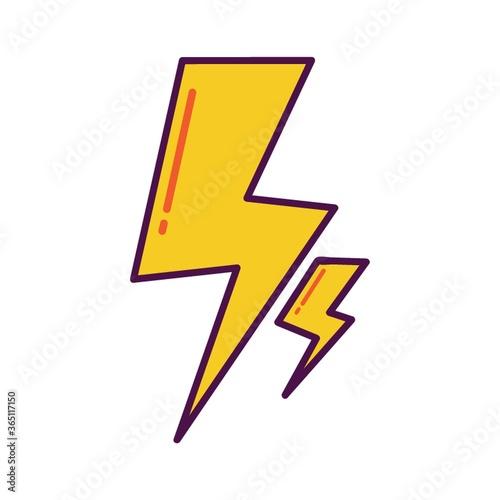 Fototapeta voltage sign obraz na płótnie