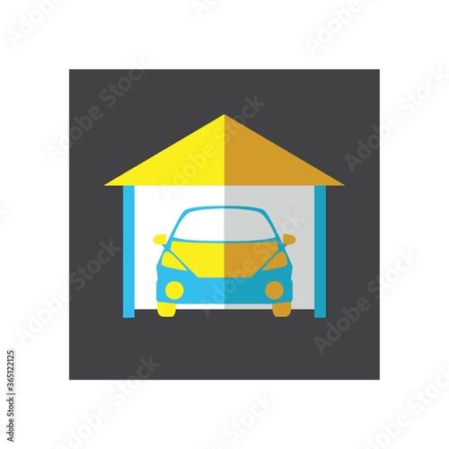 Obraz na plátně car in garage