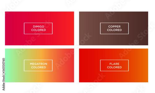 Photo Set of gradient color background (dimigo colored, copper colored, megatron color