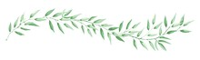 Green Leaf -- Narrow Banner. L...