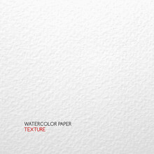 Watercolor Paper Texture. Vector Textured Abstract White Background