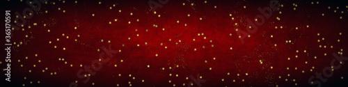 Fototapeta Christmas stars banner background obraz