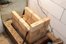 Sauna Stove That Is Being Buil...
