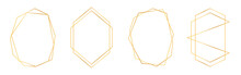 Set Of Golden Geometric Frames...