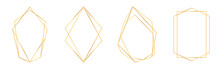 Set Of Golden Geometric Frames...