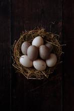 Duck Eggs (Portrait)