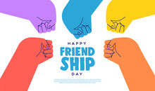Friendship Day Web Template Co...