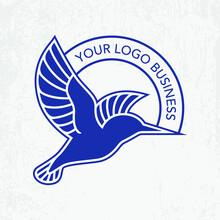 Blue Kingfisher Logo Design Fo...