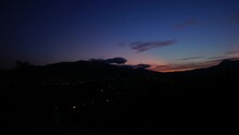 Panorama Of Night Alushta With...