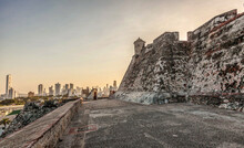 Sunset In Castillo San Felipe ...
