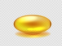 Capsule With Golden Omega Acid...