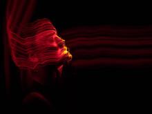 Lightpainting Portrait, New ...