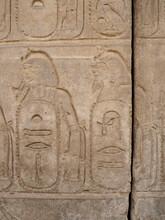 Relief Painting In Karnak Temple