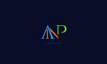 ANP Letters Logo Alphabet  Des...