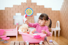 Toddler Girl Pretend Play Baby...