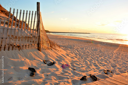 Summertime on Cape Cod, Massachusetts Wallpaper Mural
