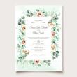 eucalyptus wedding card set